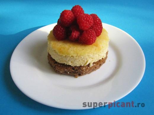 Cheese cake cu zmeura