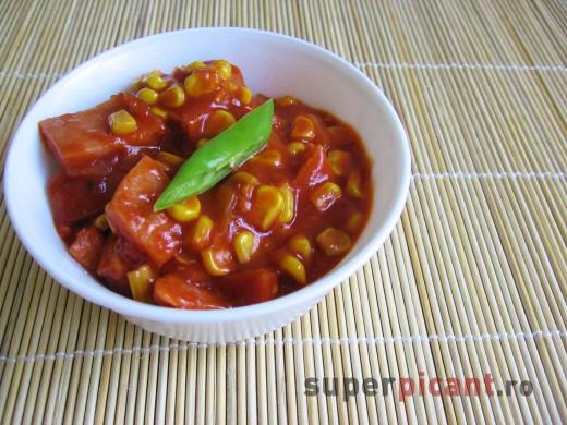 Jambon cu sos barbeque